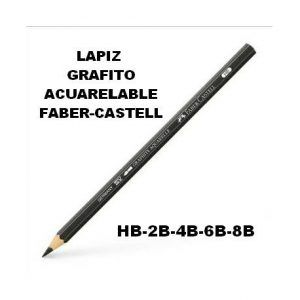 Lápices de grafito acuarelables